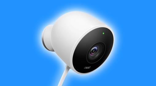 nest cam indoor and outdoor installation